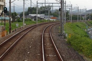 2021年5月16日。仏子〜元加治駅間。左手に「15/訓練」標識が見えています。