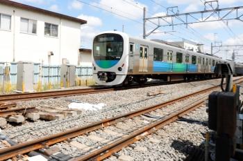 2021年5月23日。東村山〜所沢駅間。通過したのは38116Fの1601レです。
