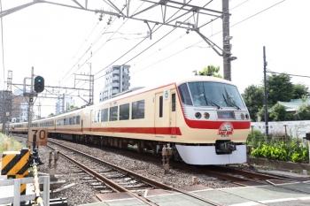 2021年5月29日 15時35分頃。高田馬場〜下落合駅間。10105Fの上りの臨時特急「小江戸92号」。