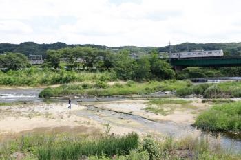 2021年6月1日。仏子〜元加治駅間。メトロ7001Fの1708レ。
