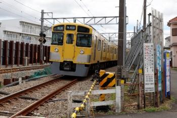 2021年6月30日。東村山〜西武園駅間。2511Fの6244レ。