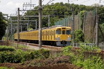 2021年6月20日 12時58分頃。入曽〜狭山市駅間。2001Fの5622レ。<