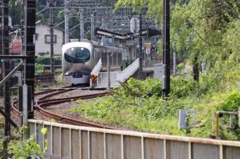 2021年6月20日 8時18分ころ。武蔵横手。臨時停車の5レ。001-B編成でした。