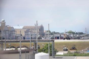 2021年6月20日。航空自衛隊 入間基地。西武池袋線の踏切のすぐ近く。