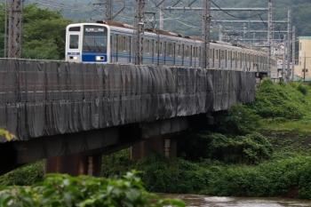 2021年7月2日。仏子〜元加治駅間。6109Fの6593レ。