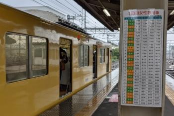 2021年7月2日 9時13分頃。上石神井。女性専用車がある最後の列車、2624レです。車内は余裕がありました。