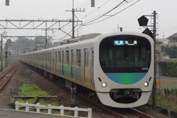 2021年7月7日。元加治。30102Fの3102レ。この編成はいつもは新宿線です。
