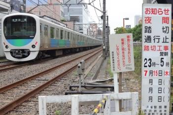 2021年7月9日。高田馬場〜下落合。38118Fの5133レ。