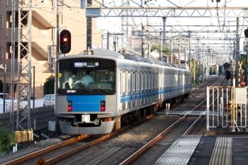 2021年8月22日。武蔵藤沢。20151Fの1002レ。