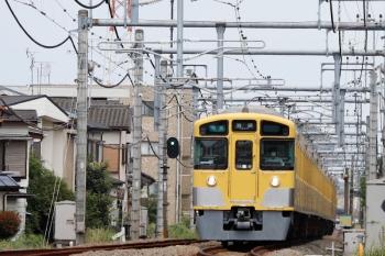 2021年8月22日。狭山ヶ丘〜武蔵藤沢駅間。4009Fの通過後、おもむろにやって来る2063F+2465Fの4122レ。