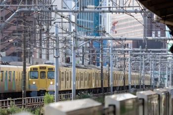 2021年9月13日 8時40分頃。西武新宿〜高田馬場。2413F+2055Fの4307レ。