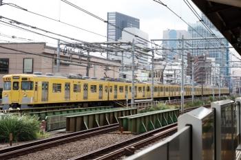 2021年9月16日。西武新宿〜高田馬場。2411F+2509F+2519Fの2620レ。