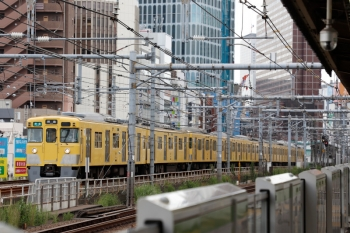 2021年9月16日。西武新宿〜高田馬場。2401F+2057Fの4309レ。