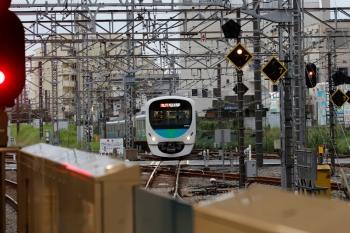 2021年9月16日。所沢。西武新宿から到着する38102Fの8093レ。