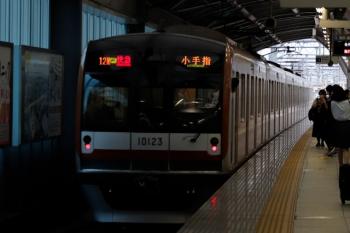 2021年9月25日。石神井公園。メトロ10023Fが走る12M運用の1815レ。