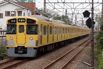 2021年10月8日。上井草。(<-新宿)2515F+2501Fの5501レ。