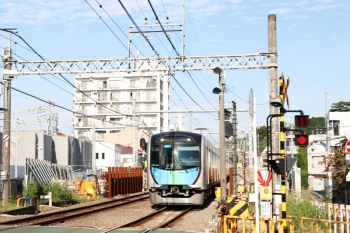 2021年10月8日。新井薬師前〜沼袋駅間。40106Fの2754レ。