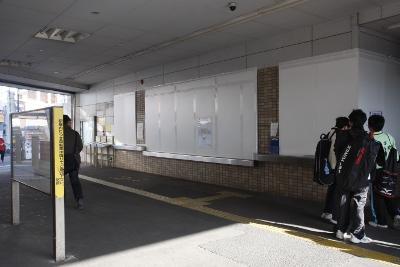 2011年4月17日、石神井公園駅南口
